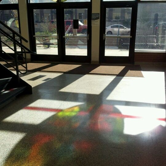 Photo taken at UWM Lapham Hall by Daniel N. on 4/17/2012