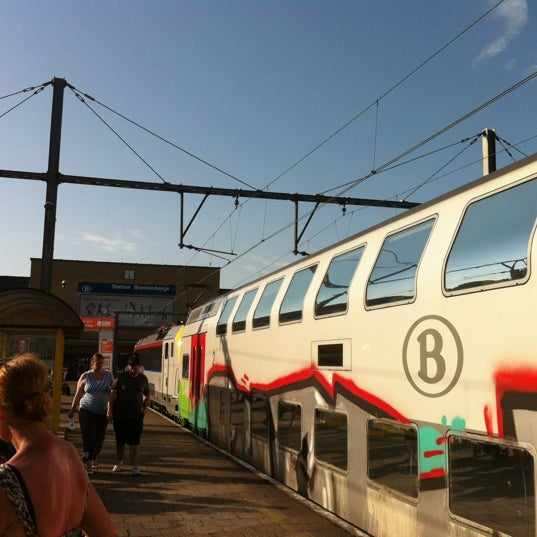Photo taken at Station Blankenberge by Jitse V. on 8/18/2012