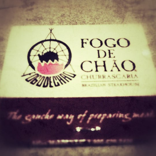 Photo taken at Fogo de Chao Brazilian Steakhouse by chris F. on 4/16/2012
