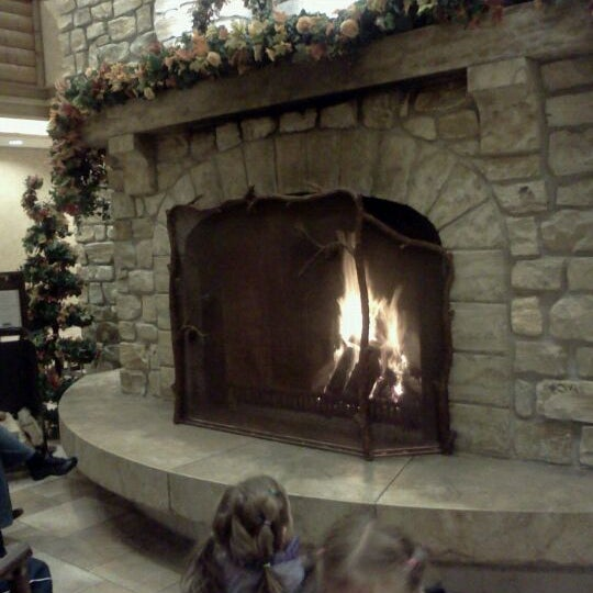 Photo taken at Edelweiss Lodge and Resort by Ashley H. on 11/17/2011