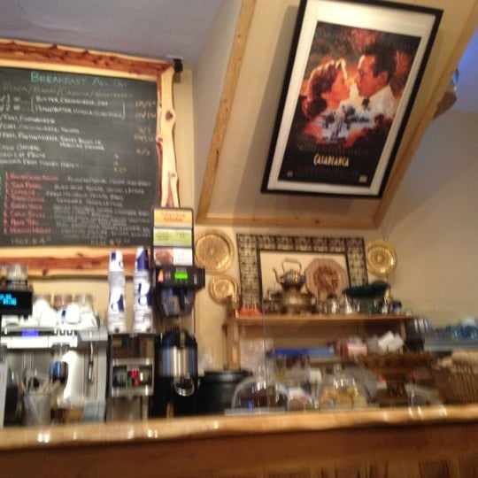 Photo taken at Pause Cafe by Marina S. on 12/1/2011