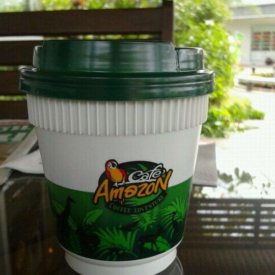 Photo taken at Café Amazon by Bank I. on 8/16/2011