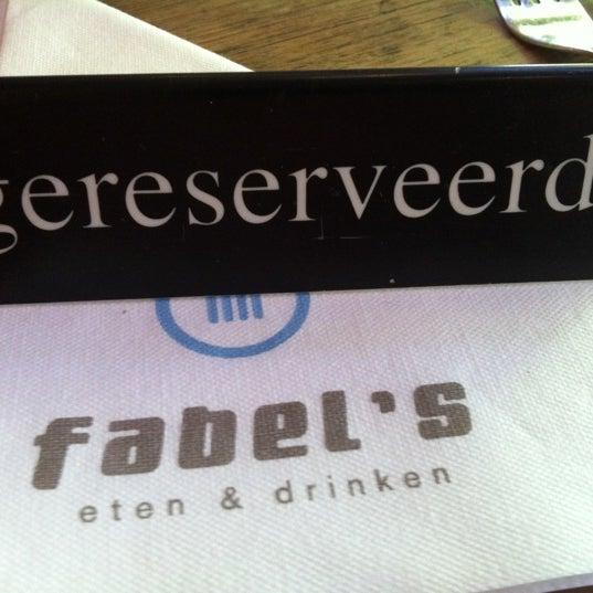 Photo taken at Fabel's by Jeroen L. on 7/4/2012