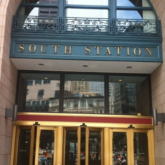 Photo taken at South Station Terminal (MBTA / Amtrak) by William F. on 7/28/2012