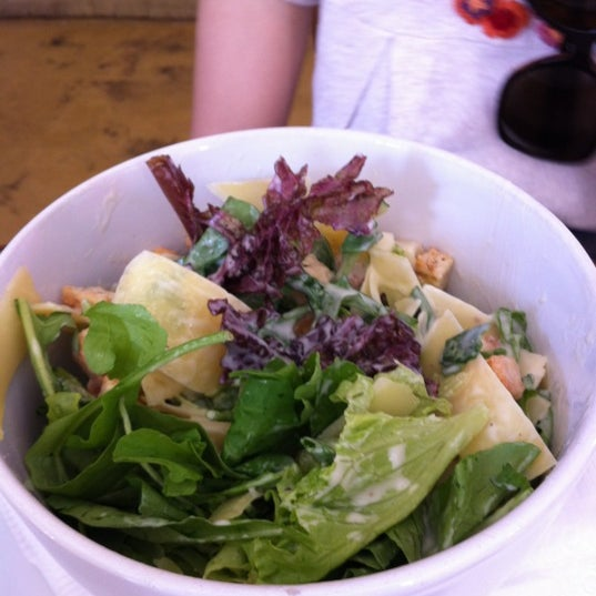 Caesar salad.  Refreshing!