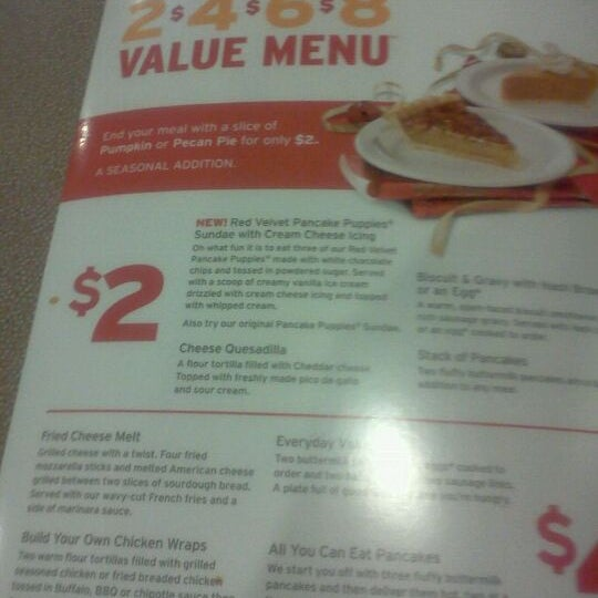 Photo taken at Denny's by Ray B. on 11/29/2011