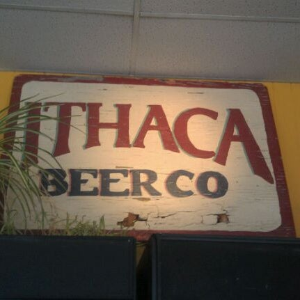 Photo taken at Ithaca Beer Co. Taproom by Greg H. on 8/21/2011