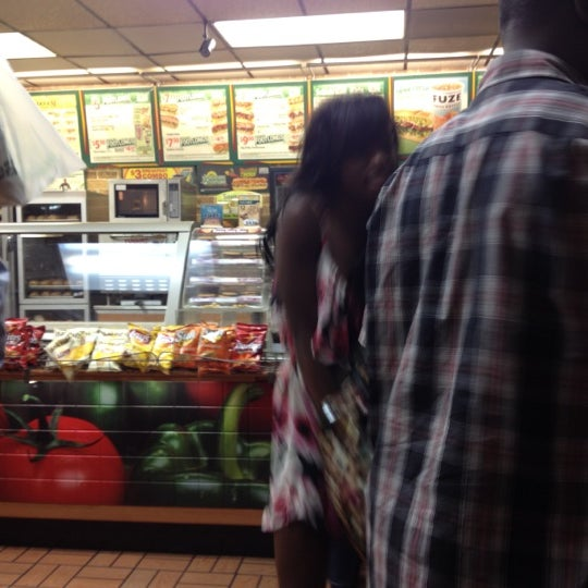 Photo taken at SUBWAY by Mahir S. on 7/13/2012