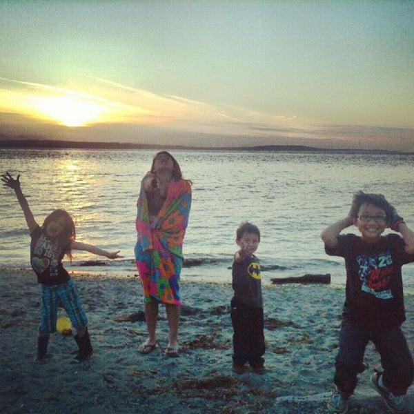 Photo taken at Carkeek Park by Jennifer R. on 5/27/2012