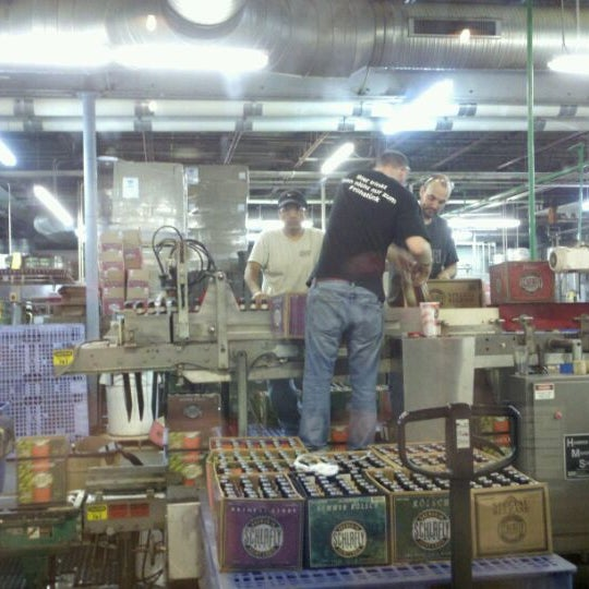 Photo taken at Schlafly Bottleworks by Jenn K. on 5/4/2012