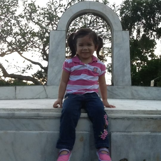 Photo taken at Manila Memorial Park by Sheryl E. on 10/23/2011