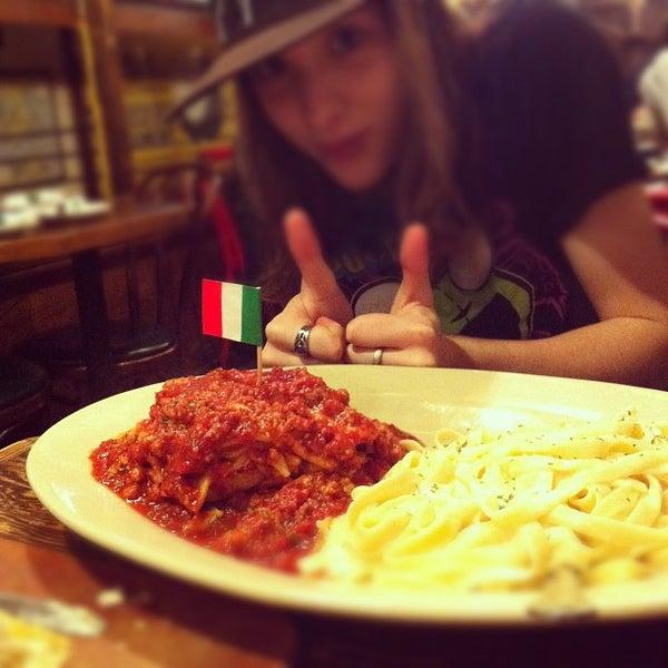 Photo taken at Spaghetti Warehouse by Hillary F. on 3/8/2012