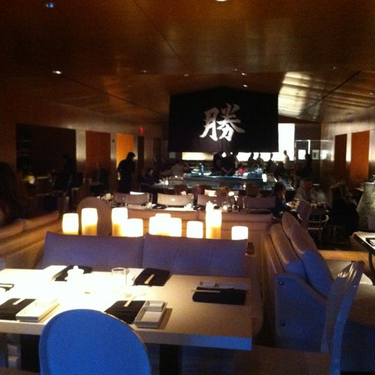 Photo taken at Katsuya Brentwood by Everett G. on 5/2/2012
