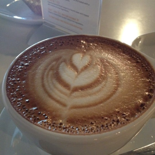 Photo taken at Transcend Coffee by Jesse J. on 4/28/2012