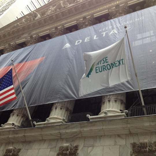 Photo taken at NYSE Euronext by Victoria F. on 7/19/2012