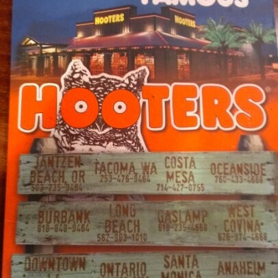 Photo taken at Hooters of Ontario by Martin D. on 6/25/2012