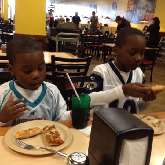 Photo taken at Cicis by Gerald W. on 3/22/2012