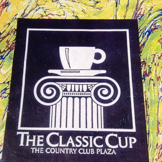 Photo taken at Classic Cup Café by Barbara M. on 4/21/2012