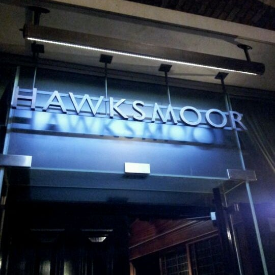 Photo taken at Hawksmoor Seven Dials by Ady L. on 2/14/2012