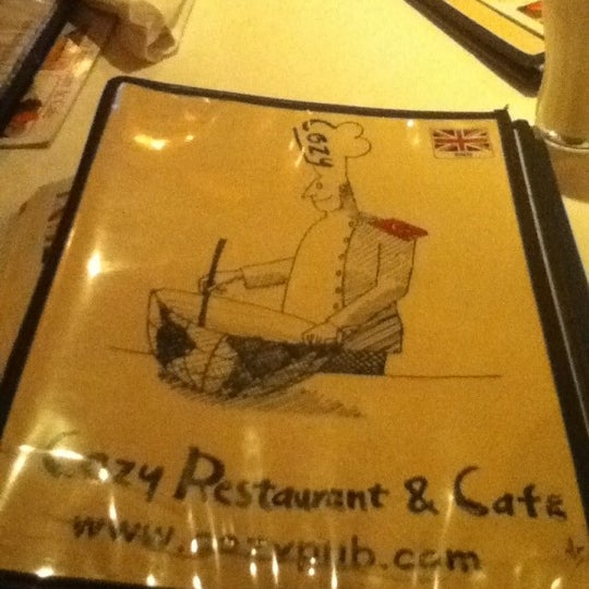 3/31/2012 tarihinde Jing Z.ziyaretçi tarafından Cozy Bar&Restaurant'de çekilen fotoğraf