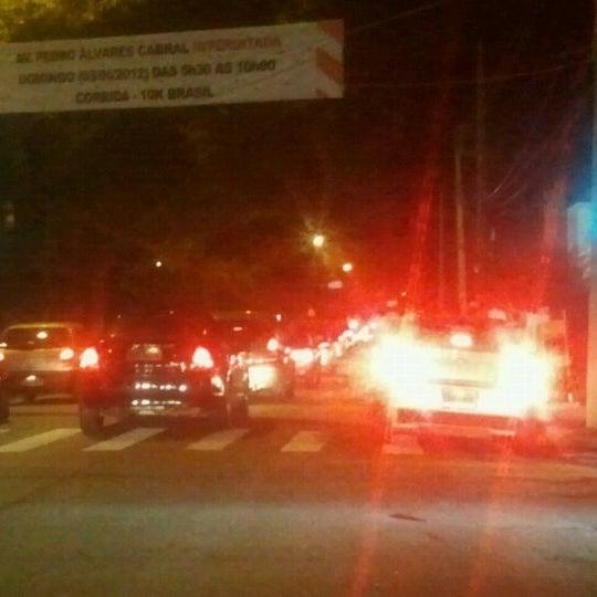 Photo taken at Avenida Brasil by Alexandre F. on 5/30/2012