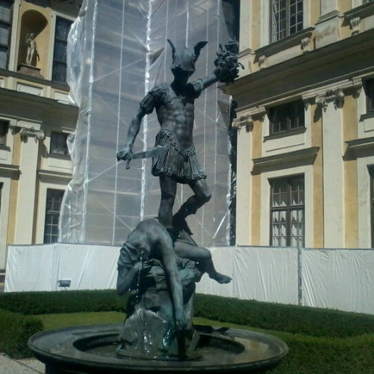 Photo taken at Residenz by Alex U. on 8/18/2012