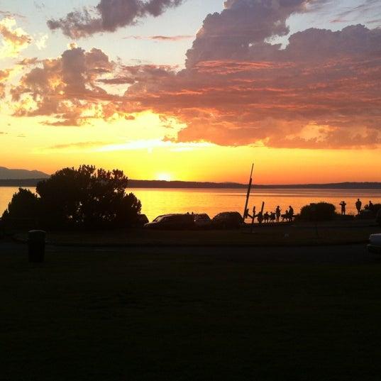 Photo taken at Carkeek Park by Matthew R. on 7/13/2012