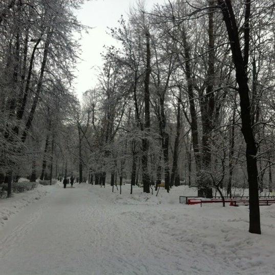 Снимок сделан в Щемиловский детский парк пользователем Lena K. 3/23/2012