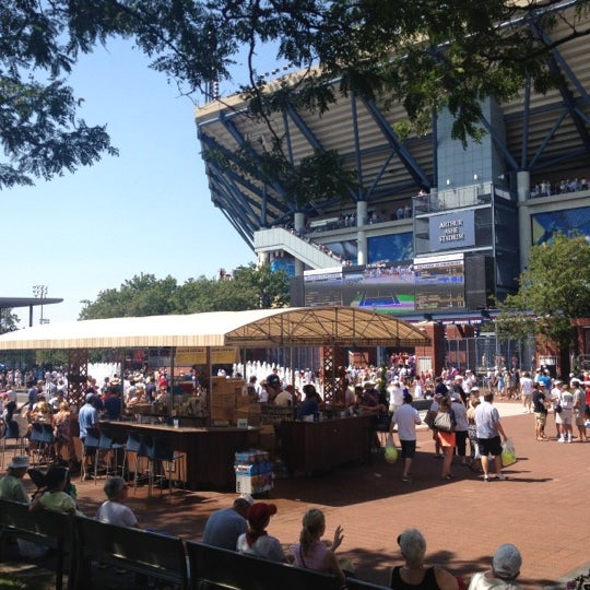 Photo taken at US Open Tennis Championships by Jason R. on 8/31/2012