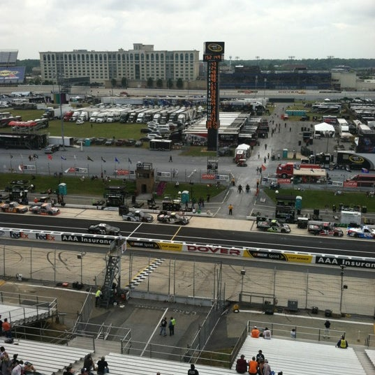 Photo taken at Dover International Speedway by Mike H. on 6/1/2012