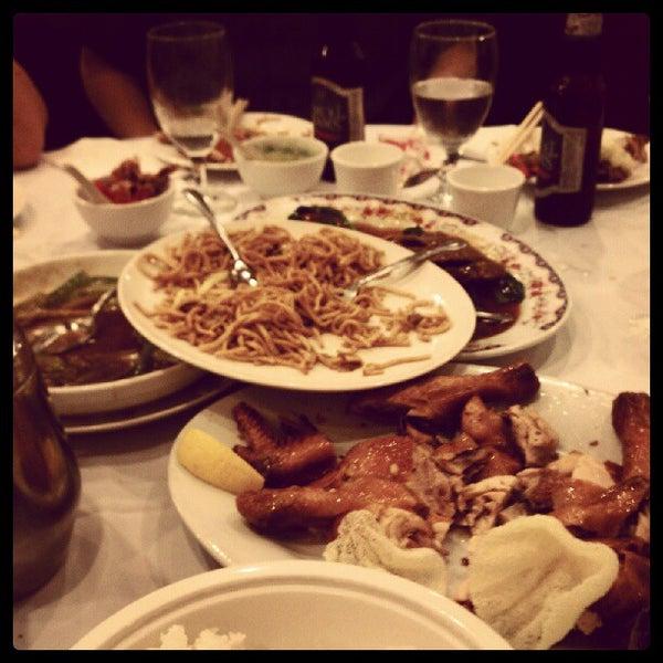 Photo taken at Moon Villa Restaurant by E B. on 6/10/2012