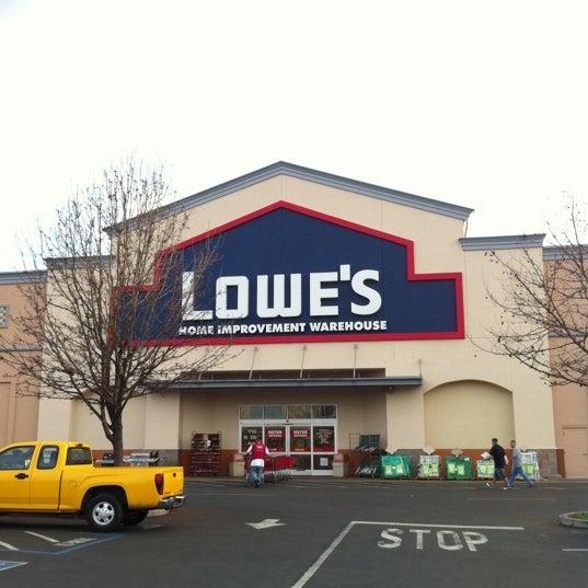 lowe 39 s home improvement hardware store in merced. Black Bedroom Furniture Sets. Home Design Ideas