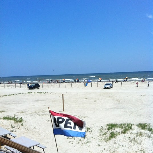 Photo taken at Beach by Hailey R. on 5/23/2012