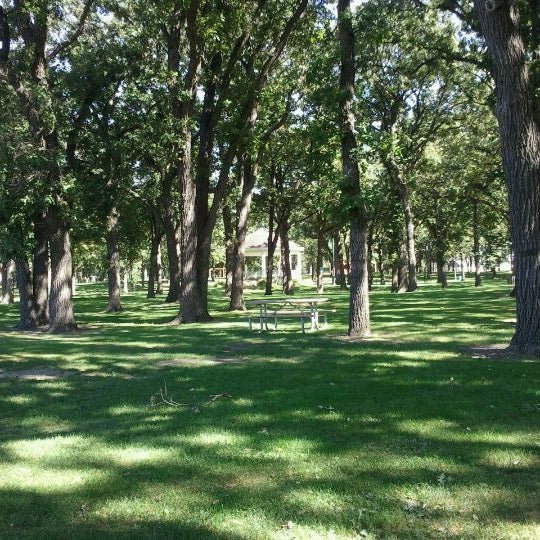 Photo taken at Island Park by Christopher S. on 9/7/2011