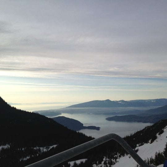 Photo taken at Cypress Mountain Ski Area by Cenk D. on 2/9/2012