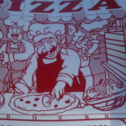 Photo taken at 99¢ Fresh Pizza by MzG0rge0us on 1/31/2012