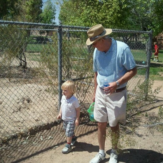 Photo taken at Ft Lowell Park by Ryan G. on 4/24/2011