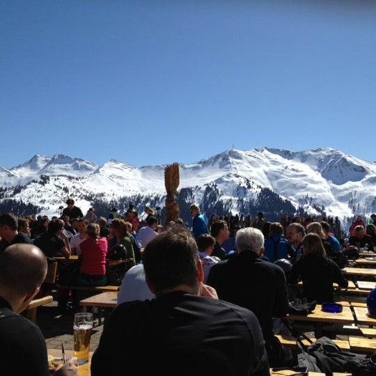 Das Foto wurde bei Westgipfelhütte von Nina S. am 3/16/2012 aufgenommen