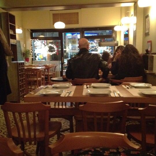 Photo taken at Sıdıka Meze Restoranı by Basak P. on 2/21/2012