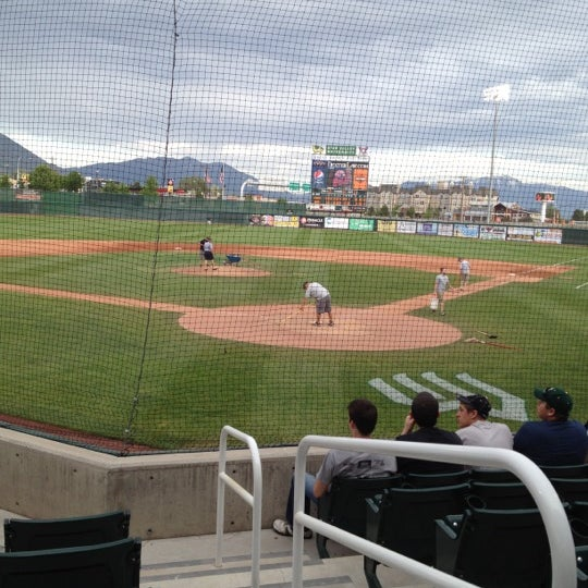 Photo taken at Brent Brown Ballpark by Tyler B. on 5/23/2012