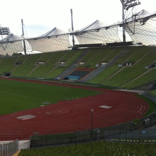 Photo taken at Olympic Stadium by Ahmad B. on 8/31/2011