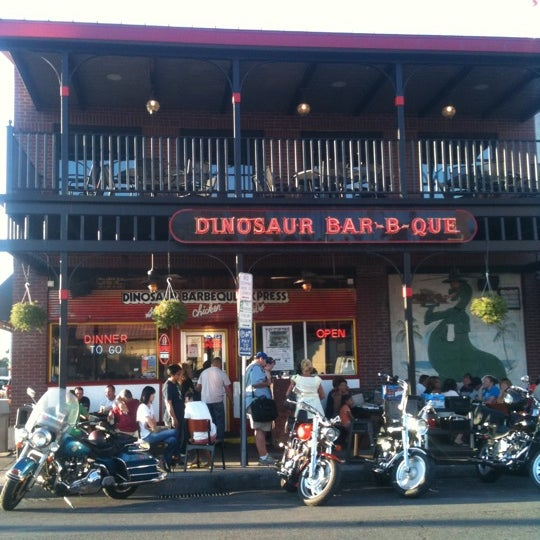 Photo taken at Dinosaur Bar-B-Que by Anthony M. on 7/30/2011