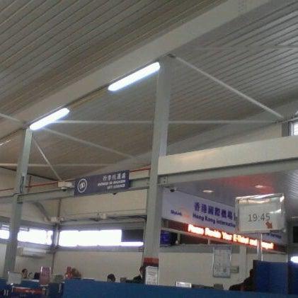 Photo taken at Taipa Ferry Terminal by Darwis Y. on 1/26/2012