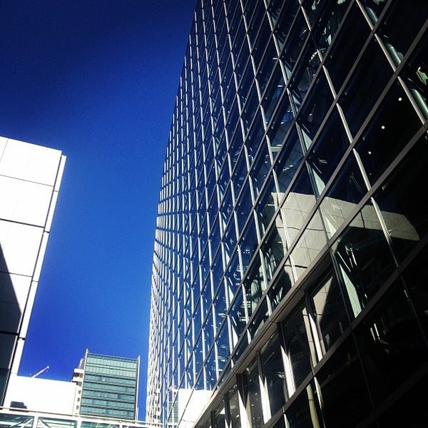 Photo taken at Glass Building by hidenori i. on 12/4/2011