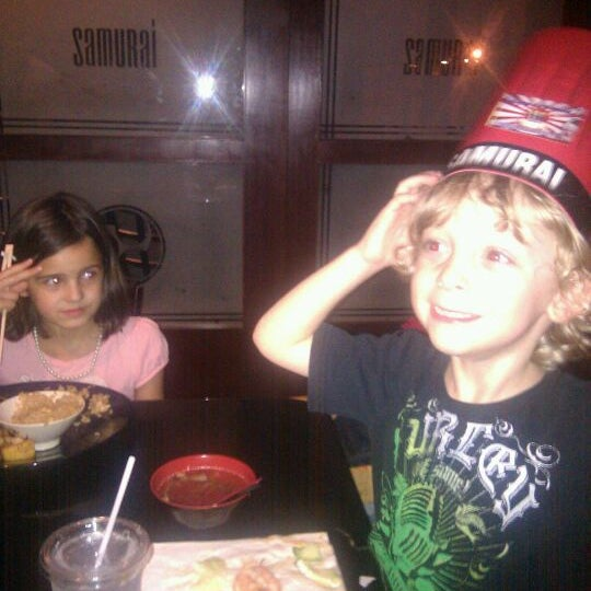 Photo taken at Samurai Japanese Steakhouse by Meredith A. on 9/23/2011