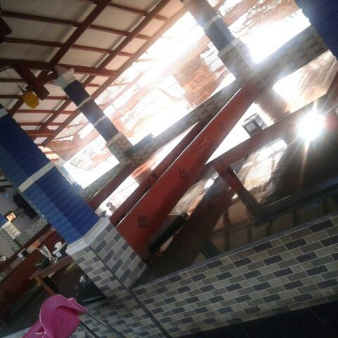 Photo taken at Ikan Bakar Bambu Haur by Agi B. on 5/19/2012