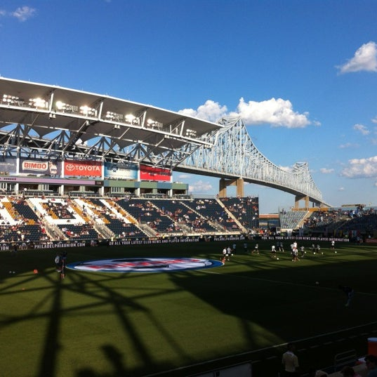 Photo taken at Talen Energy Stadium by John L. on 6/23/2012
