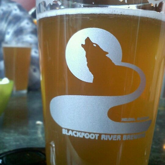 Photo taken at Blackfoot River Brewing Company by Emma on 4/5/2012