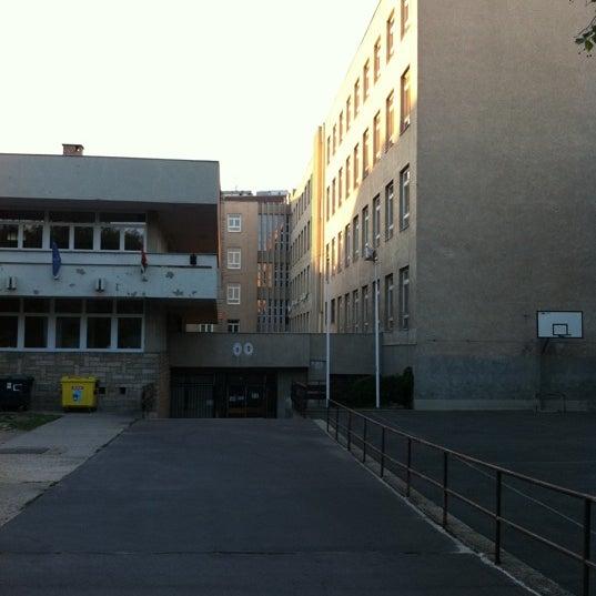 Photo taken at Budai Középiskola by P.T. J. on 6/25/2011