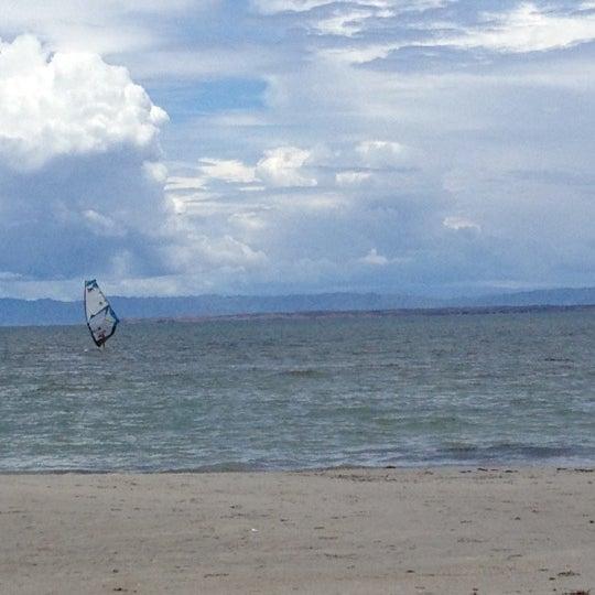 Photo taken at Playa El Yaque by Marilyn R. on 5/7/2012